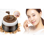 Скраб для лица с черным барбадосским сахаром Mizon Honey Black Sugar Scrub 80 г