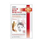 Маска тканевая с красным женьшенем Mijin Junico Crystal All-In-One Facial Mask Red Ginseng 25 г