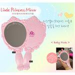 Зеркало косметическое Lioele Princess Mirror Baby Pink