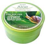 Гель с экстрактом улитки для тела успокаивающий Missha Snail Aloe Soothing Gel 285 мл