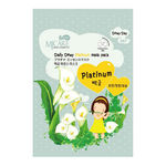 Маска тканевая с платиной Mijin Care Daily Dewy Platinum Mask Pack 25 гр