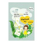 Маска тканевая с платиной Mijin Care Daily Dewy Platinum Mask Pack 25 гр