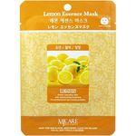 Маска тканевая с лимоном Mijin Lemon Essence Mask 23 гр
