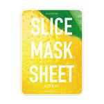 Маски-слайсы тканевые с экстрактом лимона KOCOSTAR Slice Mask Sheet Lemon 20 мл