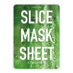 Маски-слайсы тканевые с экстрактом огурца KOCOSTAR Slice Mask Sheet Cucumber 20 мл