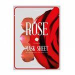 Маски-слайсы тканевые с экстрактом розы KOCOSTAR Sheet Rose Flower Mask 20 мл