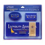 Яичное мыло-маска для лица Victoria Soap Lanolin-Agg-Tval 6*50 гр + 1*50 гр + soapbox (мыльница)