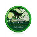 Крем для массажный с огурцом очищающий, увлажняющий Deoproce Premium Clean & Moisture Cucumber Massage Cream 300 гр