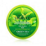 Крем массажный с зеленым чаем очищающий, увлажняющий Deoproce Premium Clean & Moisture Green Tea Massage Cream 300 гр