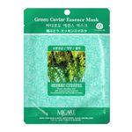 Маска тканевая с морским виноградом Mijin Green Caviar Essence Mask 23 гр