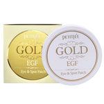 Патчи для глаз гидрогелевые с золотом и EGF от морщин Petitfee Gold & EGF Eye Patch 60 шт