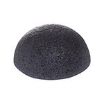Спонж конняку для умывания с древесным углем The Saem 100 Charcoal Jelly Cleansing Puff