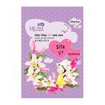 Маска тканевая с аминокислотами шелка Mijin Care Daily Dewy Silk mask pack 25 гр