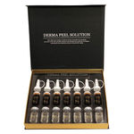 Набор пилингов с комплексом натуральных экстрактов Ellevon Derma Peel Solution 7амп*5 мл+7амп*5мл