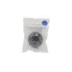 Спонж конняку с экстрактом угольного порошка для умывания The Saem 100% Charcoal Jelly Cleansing Puff