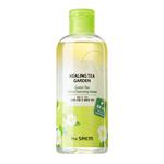 Вода очищающая увлажняющая для снятия макияжа с маслом зеленого чая The Saem Healing Tea Garden Green Tea Oil In Cleansing water 300 мл