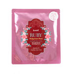 Гидрогелевая маска с маслом болгарской розы и рубиновой пудрой Petitfee RUBY Bulgarian Rose hydrogel mask pack 1 шт