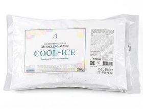 Маска альгинатная с охлаждающим и успокаивающим эффектом ANSKIN Cool-Ice Modeling Mask Refill (пакет) 240 гр