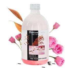Двухфазный коктейль для ванны Рисовое Молочко и Вишневый Цвет Bettina Barty Botanical Body Line 500 мл