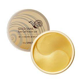 Набор патчей с экстрактом муцина улитки для век 60шт The Saem Gold Snail Eye Gel Patch Set 60 шт