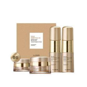Набор уходовый антивозрастной (150мл+150мл+60мл+30мл) The Saem Snail Essential EX Wrinkle Solution Skin Care 3 Set