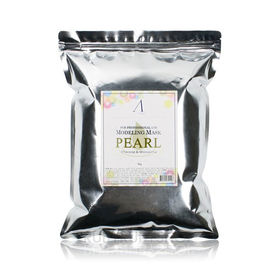 Маска альгинатная 1 КГ с экстрактом жемчуга увлажняющая, осветляющая (пакет) ANSKIN Modeling Mask Pearl Whitening & Moisturizing Refill 240 г