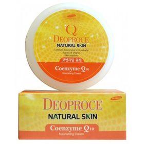 Крем для лица и тела питательный с коэнзим Q10 Deoproce Natural Skin Coenzyme Q10 Nourishing Cream 100 гр