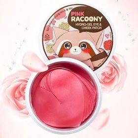 Патчи для глаз и скул гидрогелевые Pink Racoony Hydro-Gel Eye & Cheek Patch 60 шт