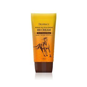 ББ-крем для лица с гиалуроновой кислотой и лошадиным жиром Deoproce Horse Oil Hyalurone BB Cream 60 гр