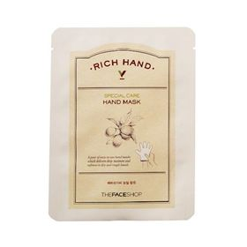 Маска для рук питательная The Face Shop Rich Hand V Special Care Hand Mask 16 гр