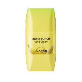 Крем для рук банановый пунш The Saem Fruits Punch Banana Hand Cream 50 мл