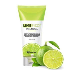 Гель-скатка с экстрактом лайма и газированной водой Secret Skin Lime Fizzy Peeling Gel 120 мл