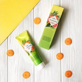 Пенка для умывания на основе газированной воды и экстракта грейпфрута Deoproce Pure Juicy Sparkling Cleansing Foam 70 гр