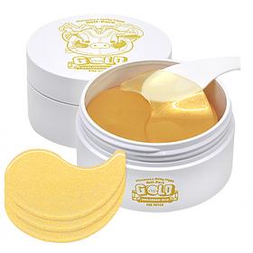 Патчи для глаз с золотом и гиалуроновой кислотой Elizavecca Milky Piggy Hell-pore Gold Hyaluronic Acid Eye Patch 90 гр