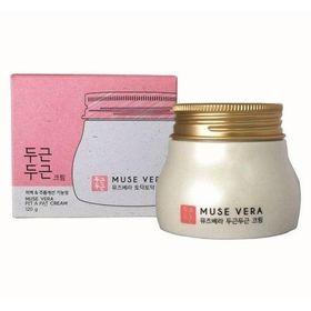 Крем для лица с цветочными экстрактами Deoproce MUSE VERA Pit Pat Cream 120 гр