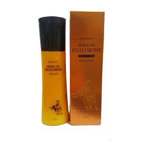 Эмульсия для лица с гиалуроновой кислотой и лошадиным жиром Deoproce Horse Oil Hyalurone Emulsion 150 мл