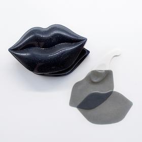 Гидрогелевые патчи для губ с ароматом черешни KOCOSTAR Black Cherry Flavor Lip Mask 50 гр (20 шт)