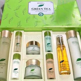 Набор для лица уходовый с экстрактом зеленого чая Deoproce Premium Green Tea Total Solution 5 Set 150мл*2 / 60мл / 50мл/ 30мл*5