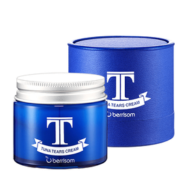 Антивозрастной крем увлажняющий Слеза тунца Berrisom Tuna Tears Cream 70 гр