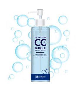 Пузырьковое средство для снятия ВВ и СС кремов Secret Skin CC Bubble Multi Cleanser 210 гр