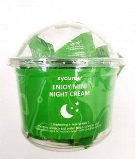Крем для лица ночной AYOUME Enjoy Mini Night Cream 3 гр*30 шт