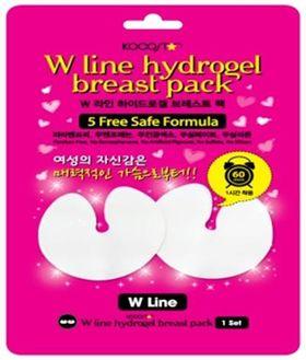 Маска гидрогелевая для бюста с эффектом лифтинга KOCOSTAR W line Hydrogel Breast Pack 22 г