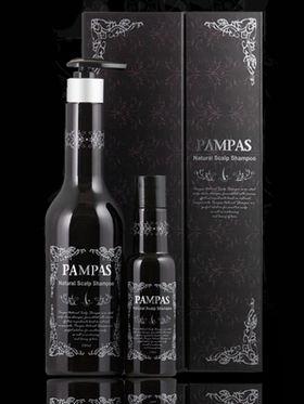 Подарочный набор натуральный шампунь против выпадения волос Pampas Natural Scalp Shampoo Set 550 мл + 170 мл