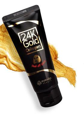 Маска-пленка очищающая с 24к золотом Eyenlip 24K Gold Collagen Peel Off Pack 100 мл