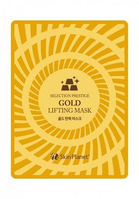 Маска для лица тканевая с золотом лифтинг эффект Mijin Skin Planet GOLD LIFTING MASK 25 гр